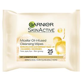Garnier Micellar Oil-Infused Cleansing Wipes
