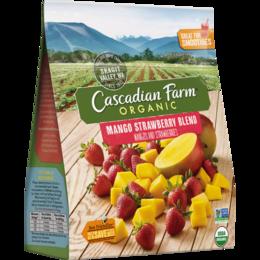 Cascadian Farm Organic Mango Strawberry Blend