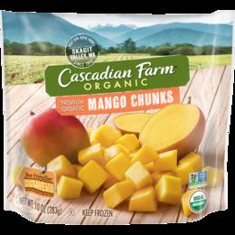 Cascadian Farm Premium Organic Mango Chunks