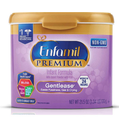Enfamil™ PREMIUM Gentlease® Milk-Based Formula, for Fussiness, Gas, and Crying, Powder