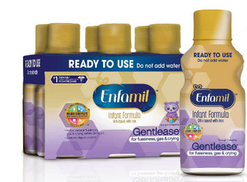 Enfamil Gentlease Milk-Based Formula, for Fussiness, Gas, and Crying, Ready To Use