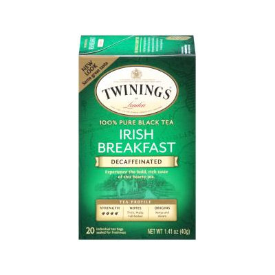 Twinings® Decaffeinated Irish Breakfast