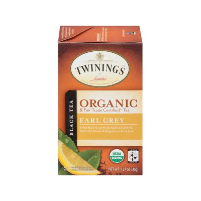 Twinings® Earl Grey Organic Tea Bags