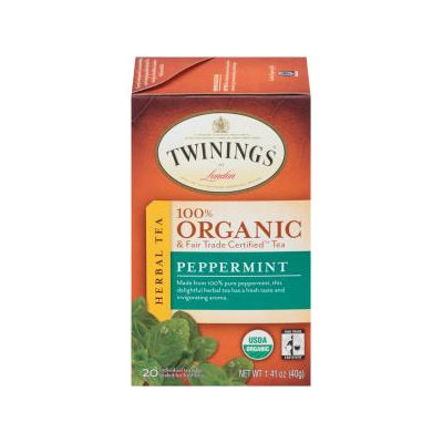 Twinings® Peppermint Organic Tea