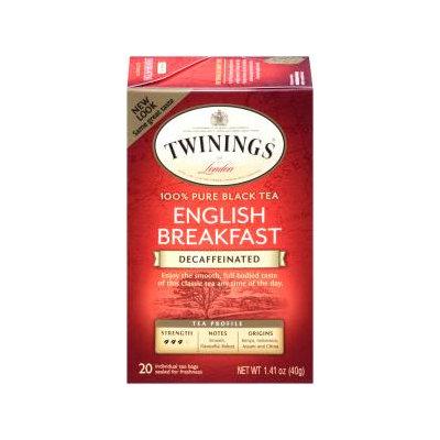 Twinings® Decaffeinated English Breakfast Tea Bag