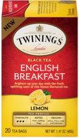 Twinings® English Breakfast Lemon Tea Bags