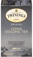 Twinings® China Oolong Tea Bags