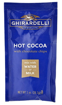 Ghirardelli Hot Cocoa With Chocolate Chips Pouch Just Add Water