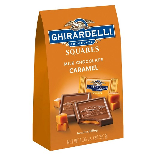 Ghirardelli Chocolate Milk Chocolate Caramel Square