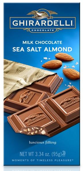 Ghirardelli Chocolate Milk Chocolate Sea Salt Almond