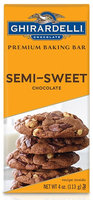 Ghirardelli Chocolate Premium Baking Bar Semi-Sweet Chocolate Bar