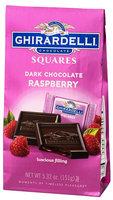 Ghirardelli Chocolate Dark Chocolate Raspberry Squares Bag