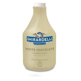 Ghirardelli Chocolate  White Chocolate Flavored Sauce