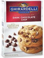 Ghirardelli Dark Chocolate Chip Premium Cookie Mix