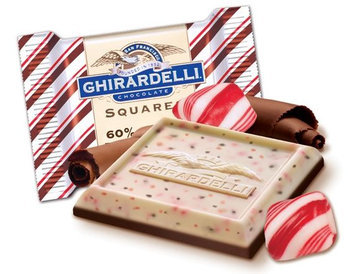 Ghirardelli Squares 60% Peppermint Bark