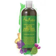 SheaMoisture African Water Mint & Ginger Detox Bubble Bath & Body Wash
