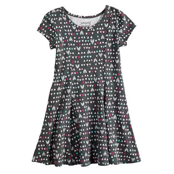 Jumping Beans® Printed Dress For Girls 4-10