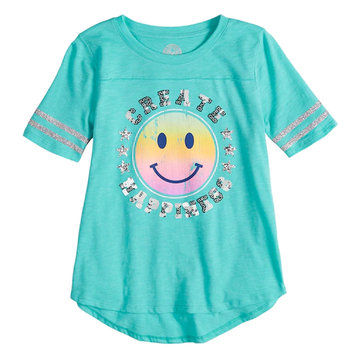 SO® Varsity Graphic Tee For Girls 7-16