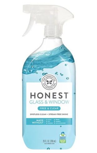 The Honest Co. Free & Clear Glass & Window Cleaner
