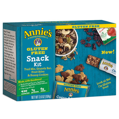 Annie's® Homegrown  Gluten Free Snack Kit