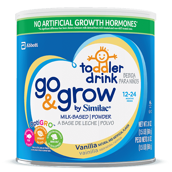 Go & Grow By Similac® Vanilla Toddler Drink
