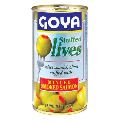 Goya® Olives Stuffed with Minced Smoked Salmon