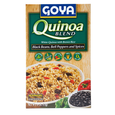 Goya® Quinoa Blend Black Beans, Bell Peppers and Spices