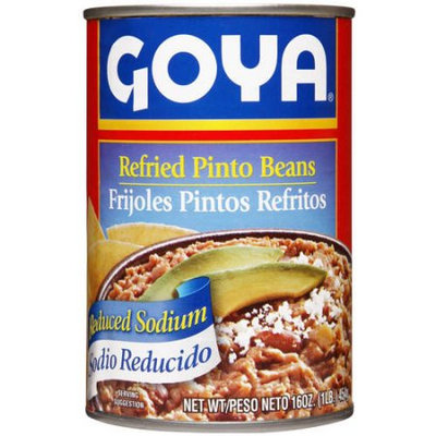 Goya® Reduced Sodium Refried Pinto Beans