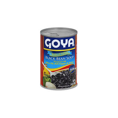 Goya® Refried Black Beans-Reduced Sodium