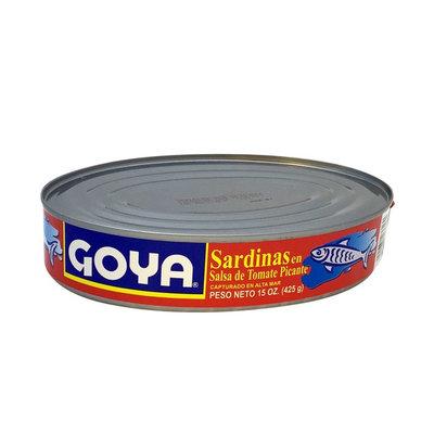 Goya® Sardines in Hot Tomato Sauce