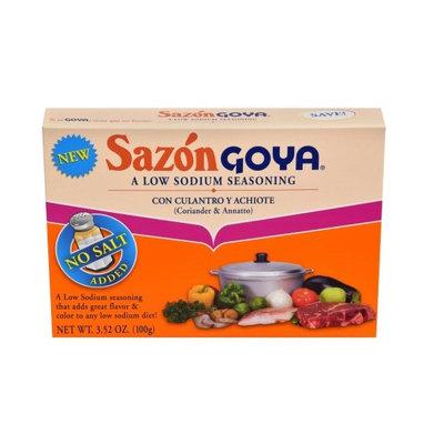 Goya® Sazòn  Coriander and Annato Low Sodium Seasoning