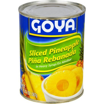 Goya® Sliced Pineapple in Heavy Syrup