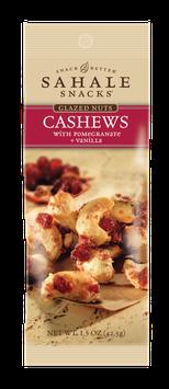 Sahale Snacks: Grab & Go Cashews with Pomegranate + Vanilla