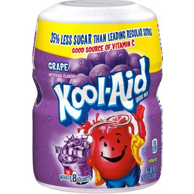 KOOL-AID Grape Drink Mix Sugar Sweetened