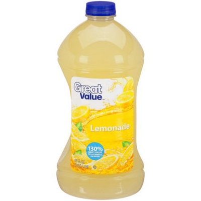 Great Value Lemonade