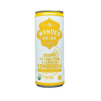 Kombucha Wonder Drink Green Tea & Lemon in Can