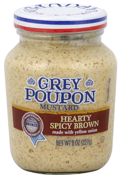 Grey Poupon Hearty Spicy Brown Mustard