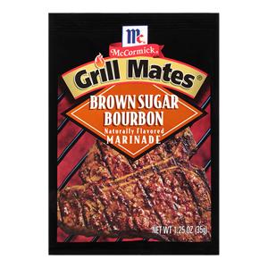 McCormick® Grill Mates® Brown Sugar Bourbon Marinade