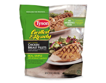 Tyson Grilled Chicken Breast Fillets