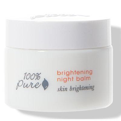 100% Pure Brightening Night Balm