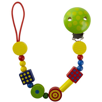HABA Motley Pacifier Chain Multi-Colored