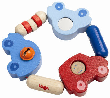 Haba Clutching Toy - Toot Toot - 1 ct.