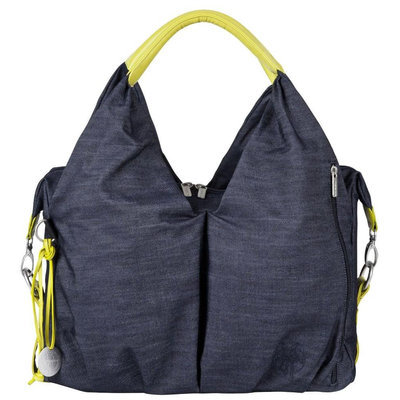 L Ssig Lassig Green Label Neckline Diaper Bag - Denim Blue