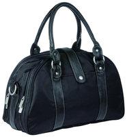 Lassig Glam Shoulder Diaper Bag in Black