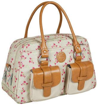 L Ssig Lassig Vintage Metro Type Diaper Bag - Rosebud Fairytales