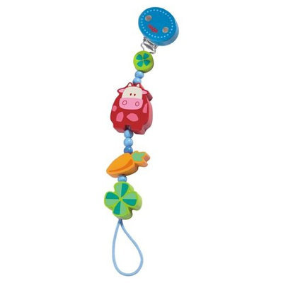 HABA Moo & Baa Pacifier chain - 1 ct.