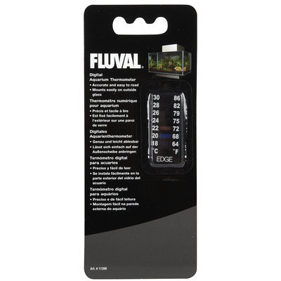 Fluval Edge Digital Aquarium Thermometer 1.75