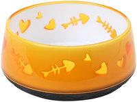 Catit Home Non-Skid Pet Bowl - Orange