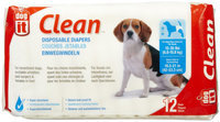 Hagen Dogit Disposable Diapers - Medium - 12 pack