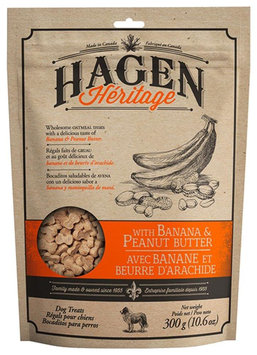 Hagen Heritage Banana & Peanut Butter Treats 10.6oz